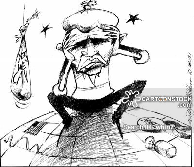 hangovers news and political cartoons