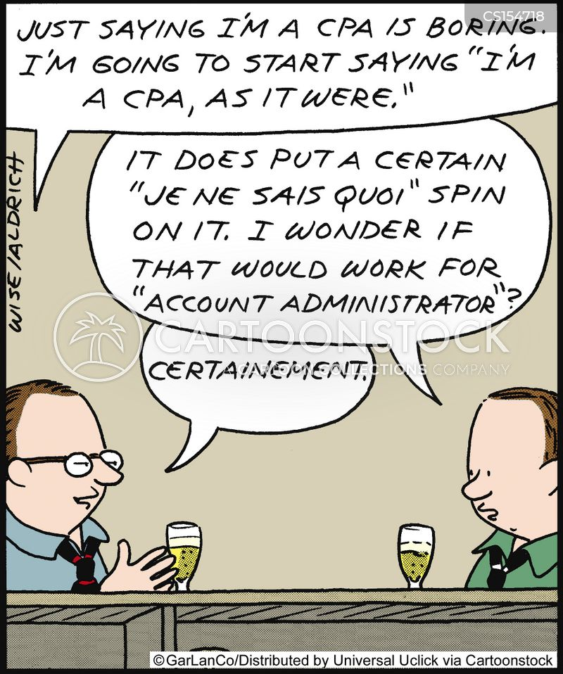 Certified Public Accountants Cartoons And Comics Funny