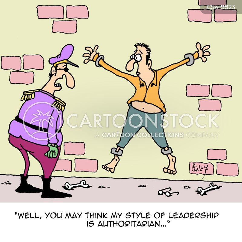 Leadership styles cartoons leadership styles cartoon funny