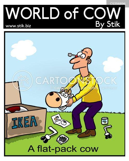 Ikea Instructions Cartoon Funny Joke Pictures - Www imagez co