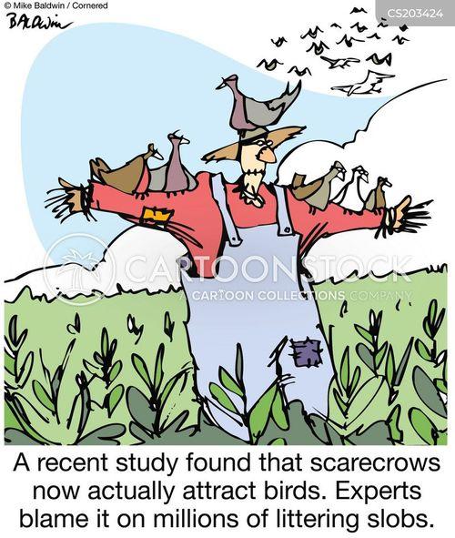 Scarecrows Cartoons And Comics