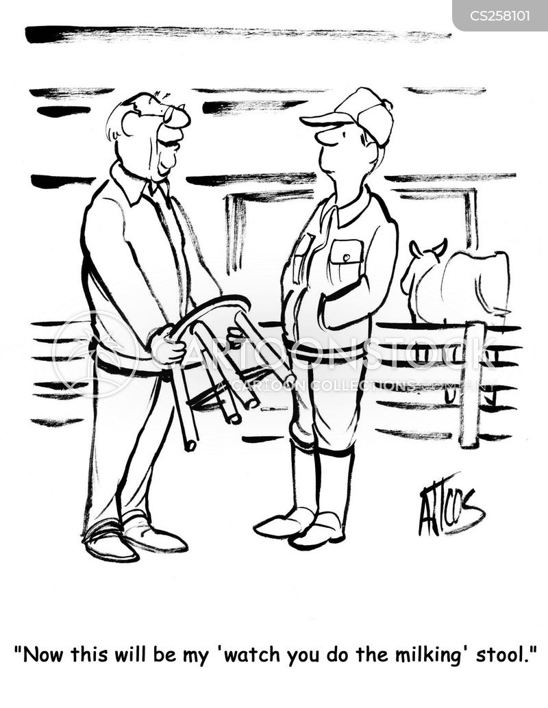 Supervision | Eli Stein Cartoons |Funny Cartoons Supervision