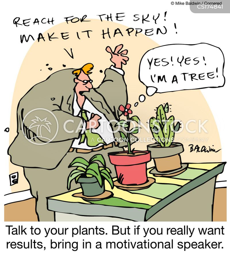 Potted Plant Cartoons And Comics Funny Pictures From