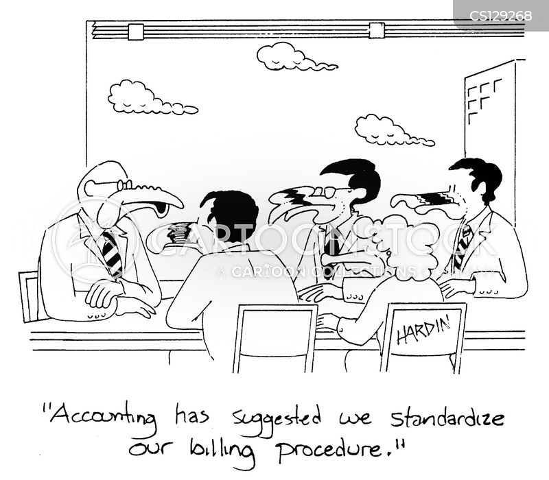 Procedure Cartoons Billing Procedure Cartoon 1 of