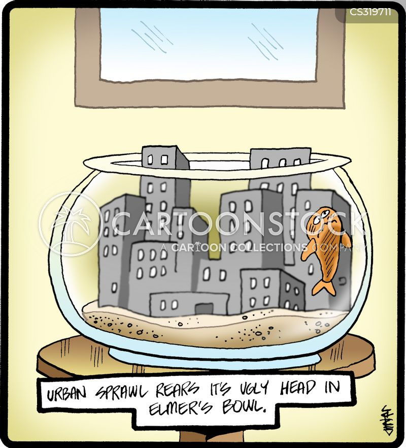 Urban Sprawl Cartoons and Comics - funny pictures from ...