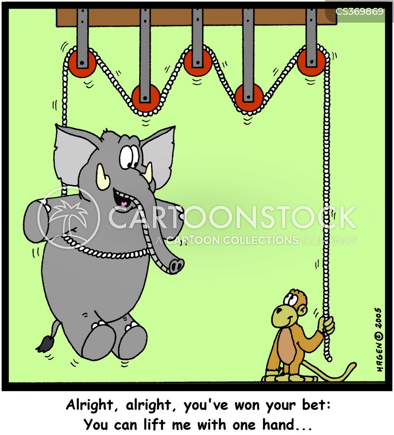 Pulley Cartoons And Comics Funny Pictures From Cartoonstock