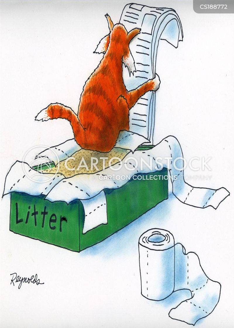 Litter Box Cartoons And Comics Funny Pictures From