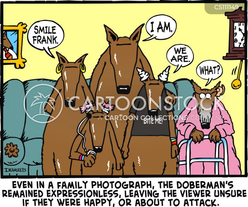 ... Pinschers Cartoons and Comics - funny pictures from CartoonStock