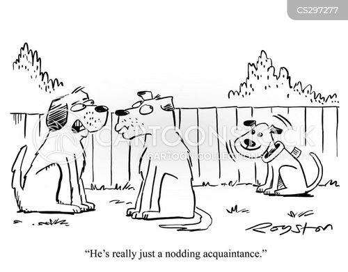 Nodding Cartoons and Comics - CartoonStock - Cartoon Humor ...