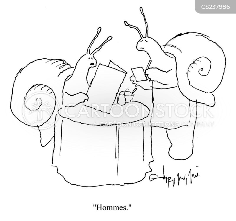 Escargot Cartoon, Escargot Cartoons, Escargot Bild, Escargot Bilder, Escargot Karikatur, Escargot Karikaturen, Escargot Illustration, Escargot Illustrationen, Escargot Witzzeichnung, Escargot Witzzeichnungen