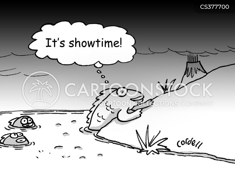 Life on earth cartoons and comics funny pictures from for Fish evolution game
