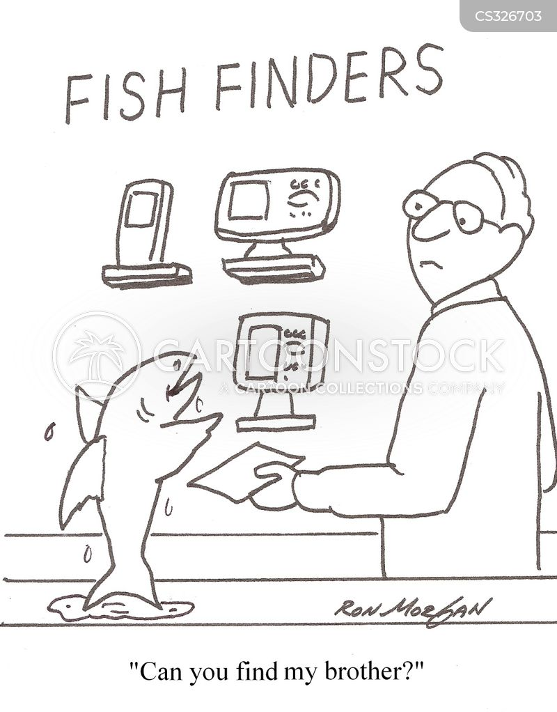 Fish finders cartoons and comics funny pictures from for Fish finders on sale