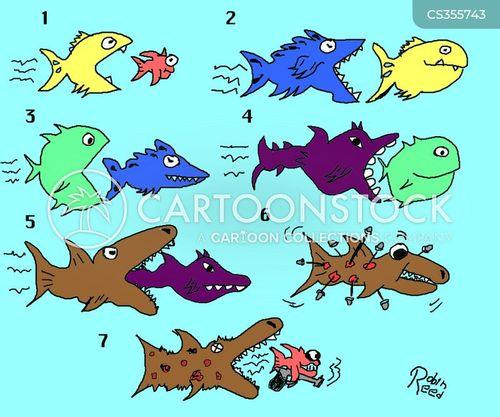 Big fish in a small pond cartoons and comics funny for Big fish in a small pond game