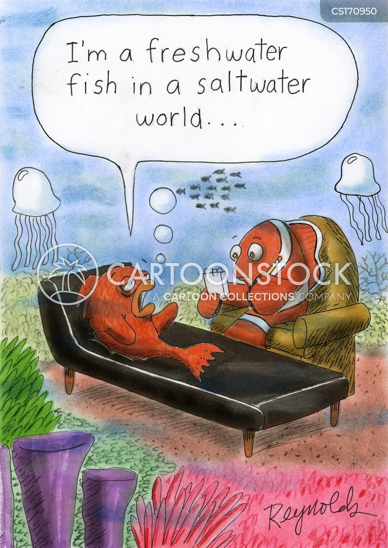 Outcast Cartoons And Comics Funny Pictures From Cartoonstock