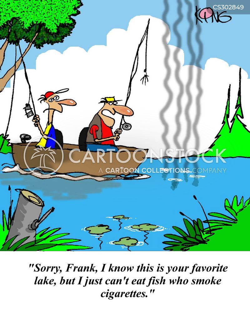 Course Fishing Cartoons and Comics - funny pictures from CartoonStock