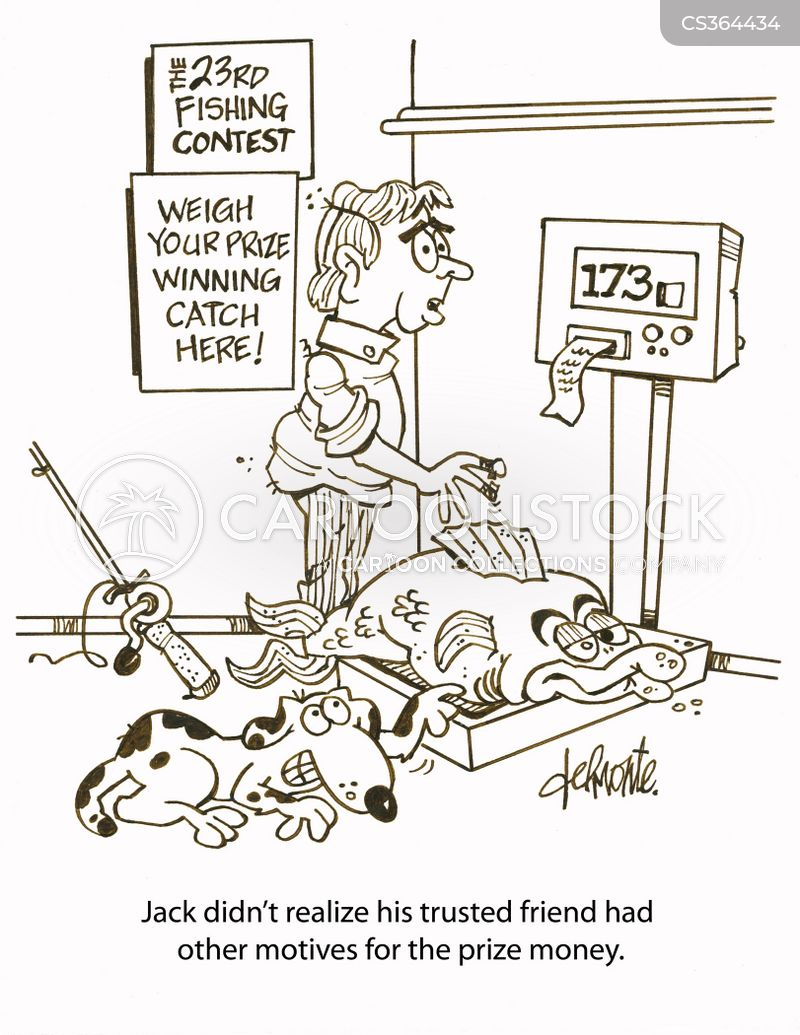 Fishing derby cartoons and comics funny pictures from for How to win money at fish tables