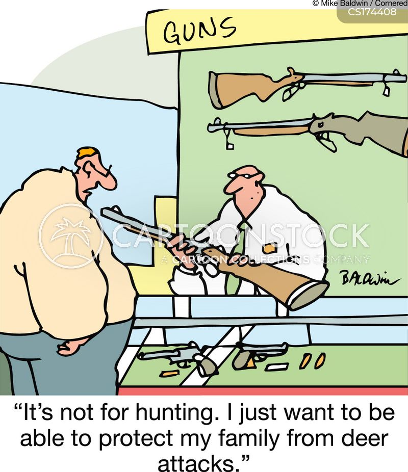 deer hunting cartoons and comics   funny pictures from
