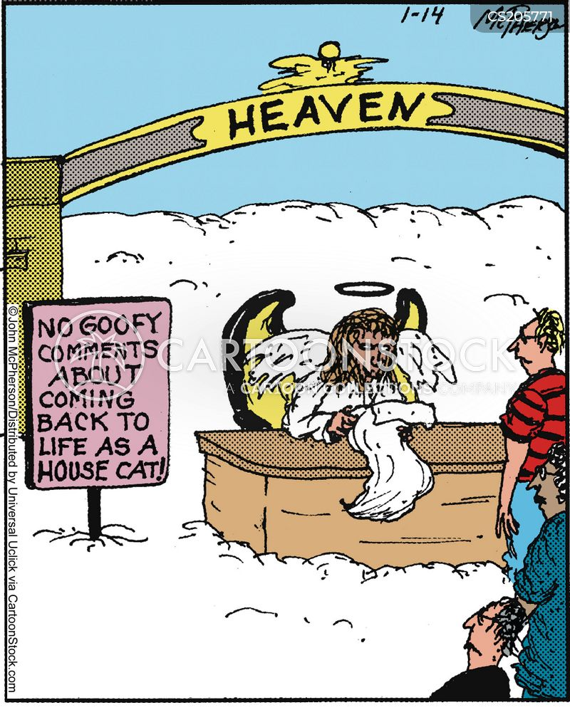 Purgatory Cartoons And Comics Funny Pictures From Cartoonstock