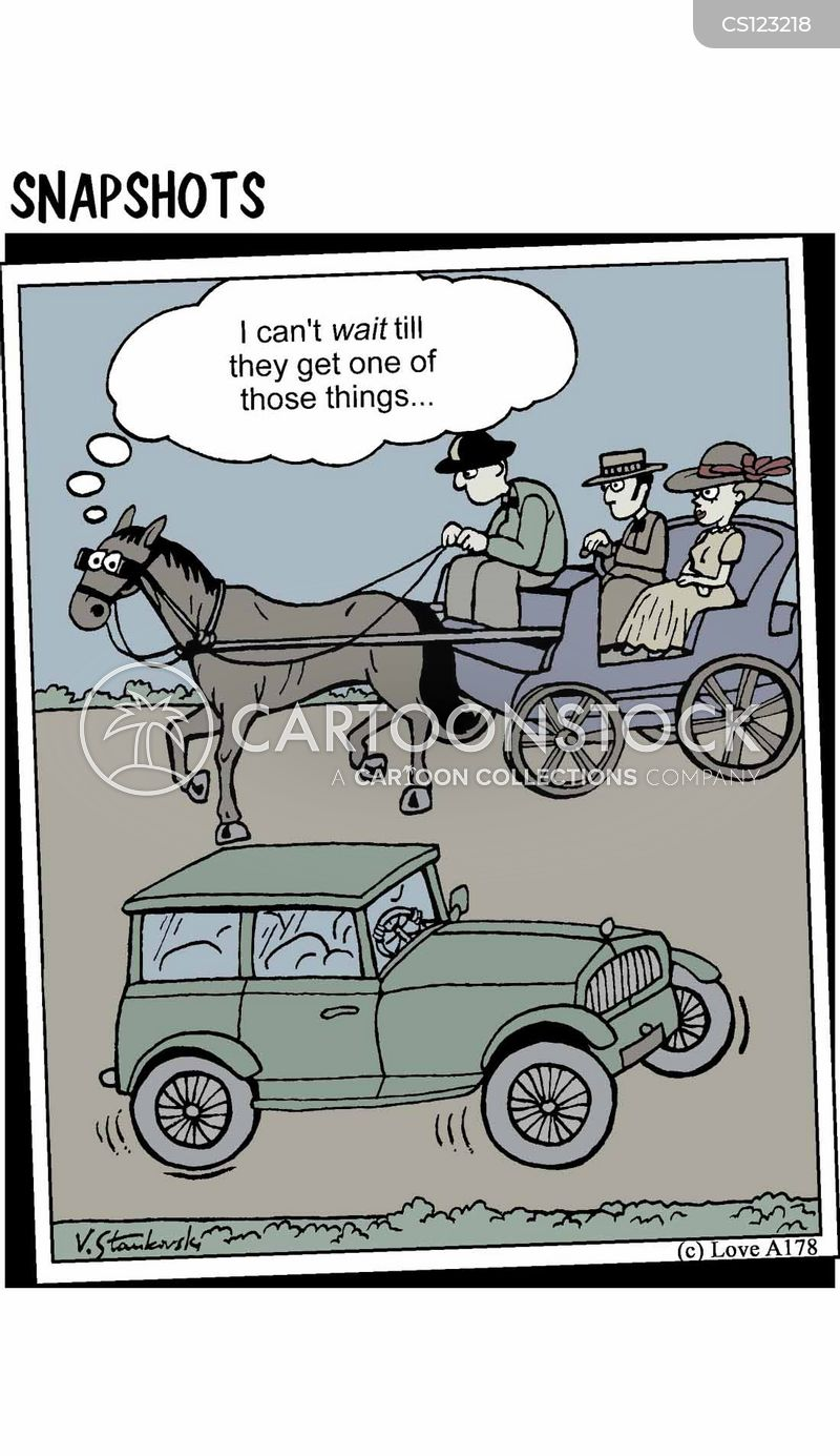 Horse Carriage Cartoon Horse Drawn Carriage Cartoon 5