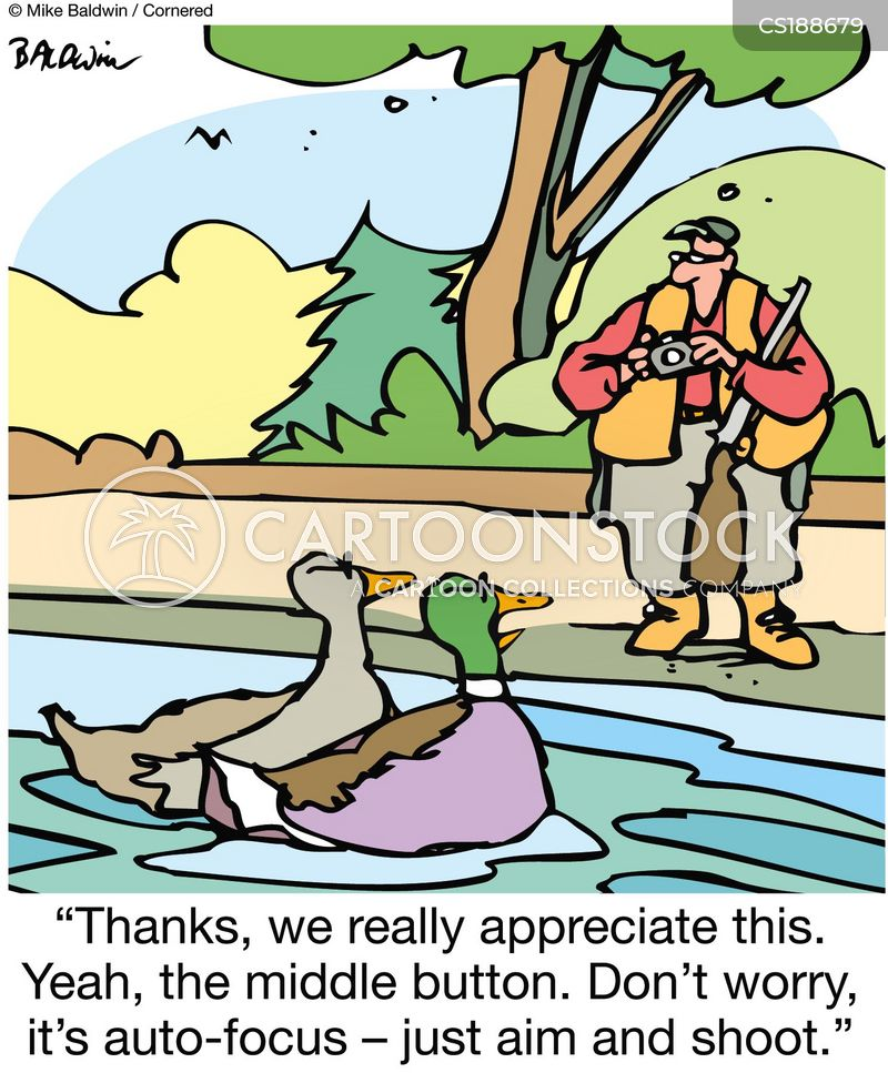 Duck Hunting Cartoons And Comics Funny Pictures From