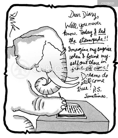 Cartoon Diary: Dreams Do Come True Cartoons And Comics