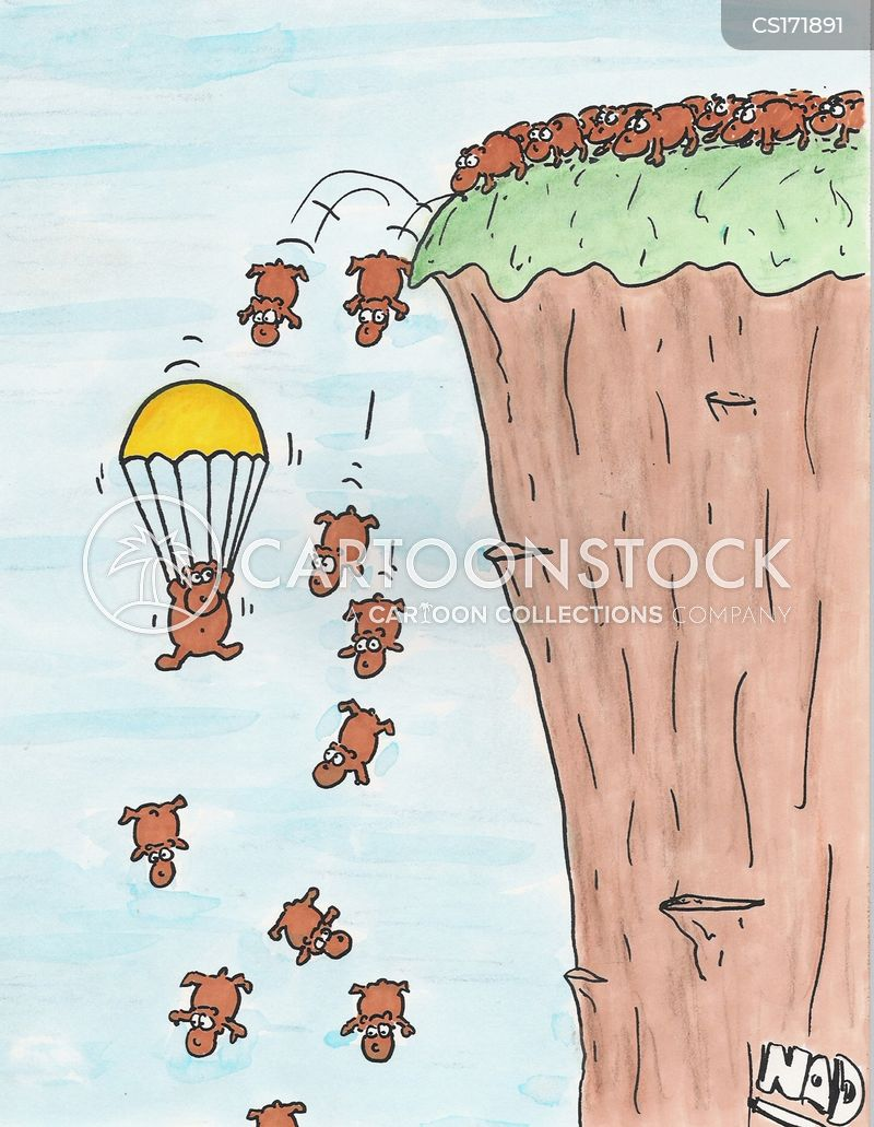 Lemming Cartoon, Lemming Cartoons, Lemming Bild, Lemming Bilder, Lemming Karikatur, Lemming Karikaturen, Lemming Illustration, Lemming Illustrationen, Lemming Witzzeichnung, Lemming Witzzeichnungen