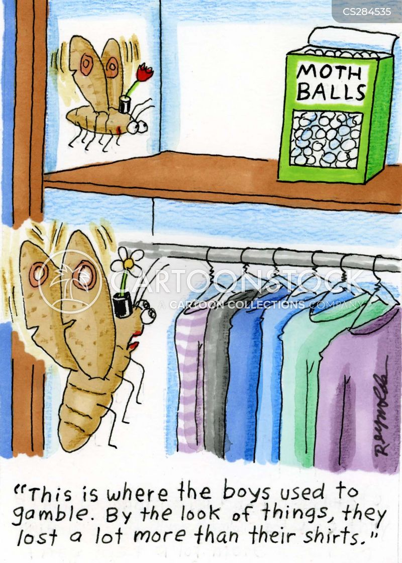 Moth Balls Cartoons And Comics Funny Pictures From Cartoonstock
