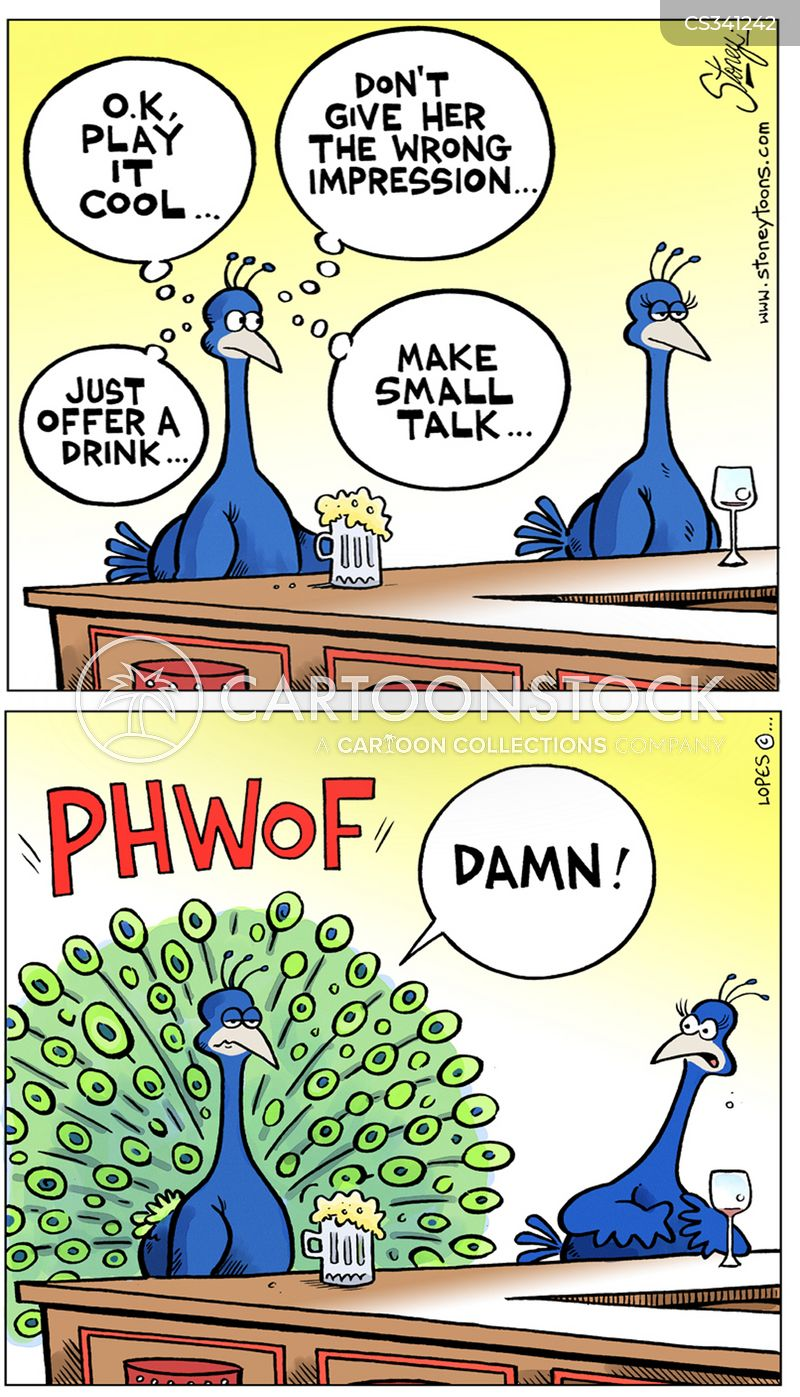 peacock feather cartoons and comics   funny pictures from