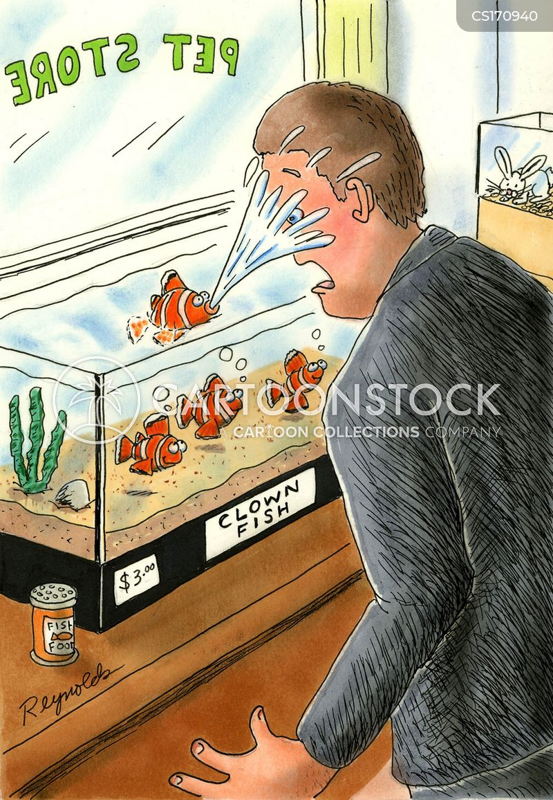 Clown Fish Cartoons and Comics - funny pictures from CartoonStock
