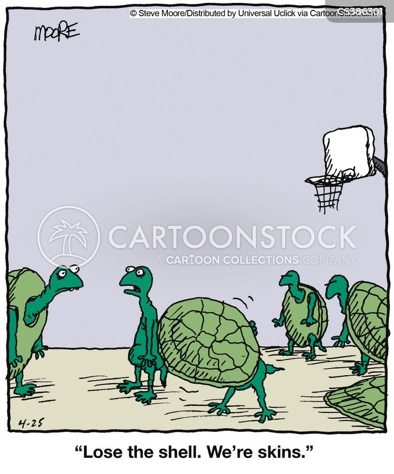 Basketball game comics pictures to pin on pinterest for Shirts and skins basketball