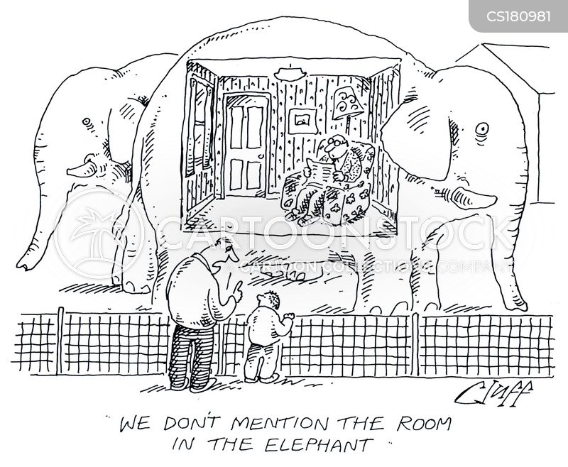 The Elephant In The Room Cartoons And Comics Funny Pictures From Cartoonstock