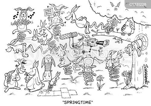 cottontail cartoons and comics