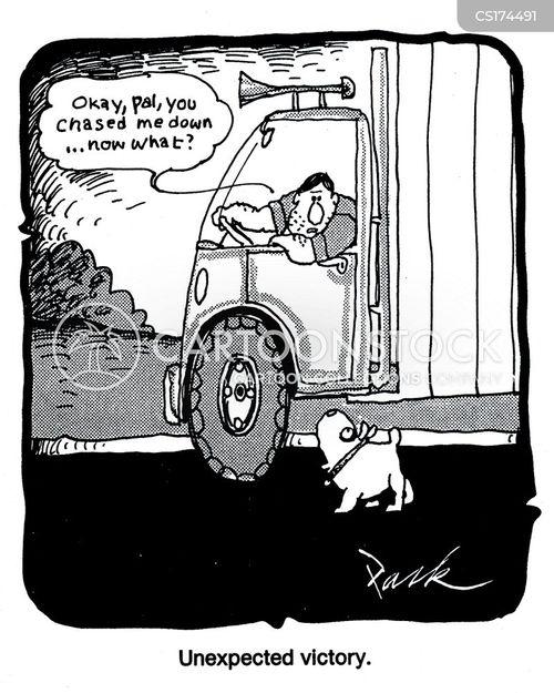 Sayings Trucking Black Dog