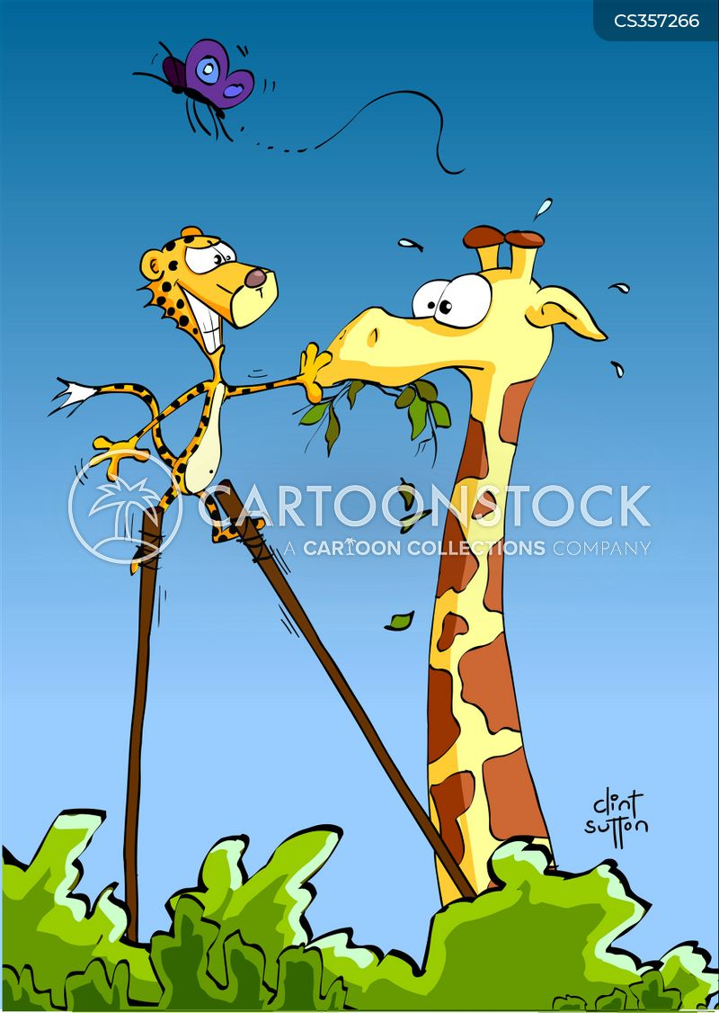 African Safari Cartoons And Comics Funny Pictures From