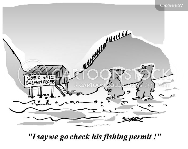 Fishing permit cartoons and comics funny pictures from for Fish and wildlife permit
