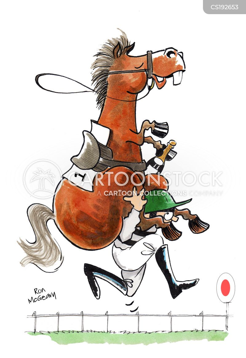 Jockeys Cartoon, Jockeys Cartoons, Jockeys Bild, Jockeys Bilder, Jockeys Karikatur, Jockeys Karikaturen, Jockeys Illustration, Jockeys Illustrationen, Jockeys Witzzeichnung, Jockeys Witzzeichnungen