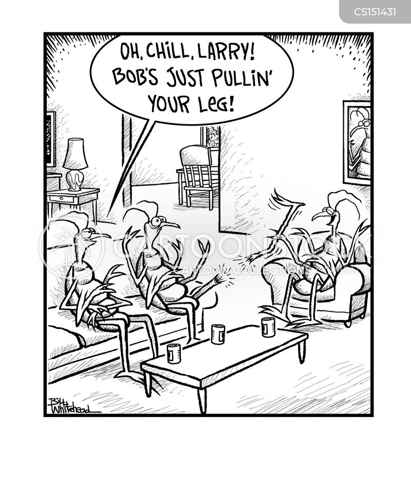 pulling your leg cartoons and comics   funny pictures from cartoonstock