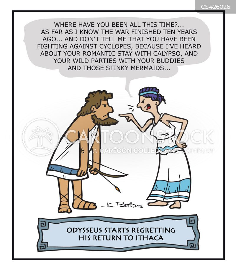 personal traits shared by penelope and odysseus in the odyssey Odysseus' wife, penelope, stands as one of ancient literature's most  less  savory traits that make her believable as a complex individual.