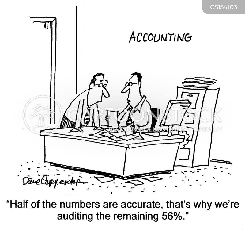 Auditing Cartoons And Comics Funny Pictures From