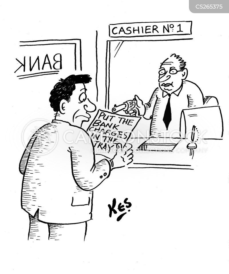 Banking Charge Cartoons And Comics