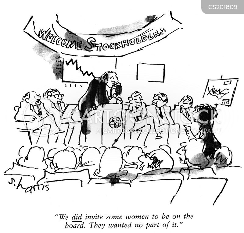 Stockholder Meeting Cartoons And Comics Funny Pictures