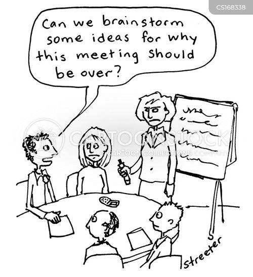 Boring Meeting cartoons, Boring Meeting cartoon, funny, Boring Meeting ...