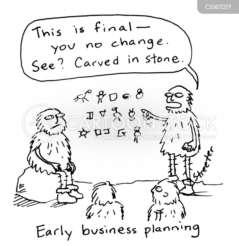 Free business plan cartoons