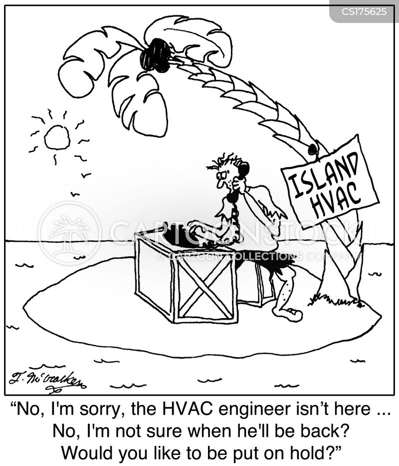 Hvac Cartoons And Comics Funny Pictures From Cartoonstock