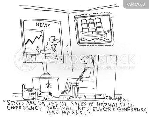 doomsday prepper cartoons and comics
