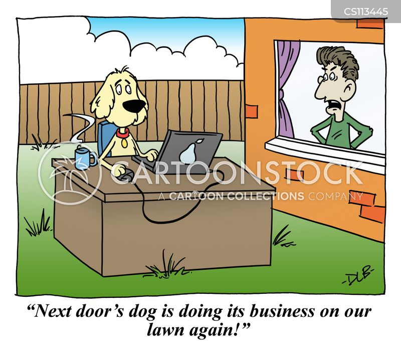 Neighbor Cartoons And Comics Funny Pictures From
