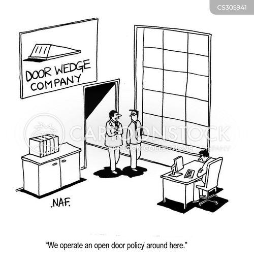 Open Doors Cartoons an...