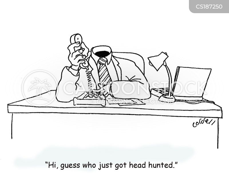 Headhunten Cartoon, Headhunten Cartoons, Headhunten Bild, Headhunten Bilder, Headhunten Karikatur, Headhunten Karikaturen, Headhunten Illustration, Headhunten Illustrationen, Headhunten Witzzeichnung, Headhunten Witzzeichnungen