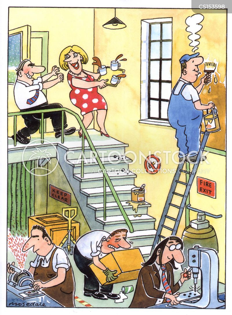 Safety Hazard Cartoons And Comics Funny Pictures From