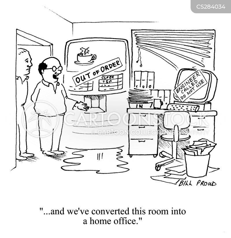 Messy Office Cartoons And Comics